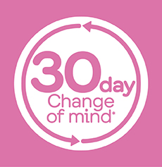 30 Day Change of mind*