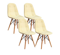Set Of 4 Ariel Dining Chair