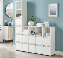 Akva Wide Bathroom Cabinet