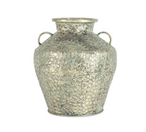 Antique Hammered Urn