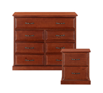 Ashford 2 Piece Bedside And Dresser Set