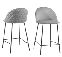 Set Of 2 Andes Bar Stools