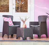 Breanne 3 Piece Outdoor Set