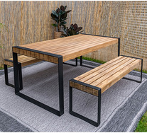 Bensa 6 Seater Outdoor Dining Table