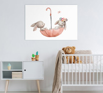 Bunnies Wall Art