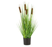72cm Bulrush Artificial Plant