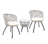 Calla 3 Piece Outdoor Set