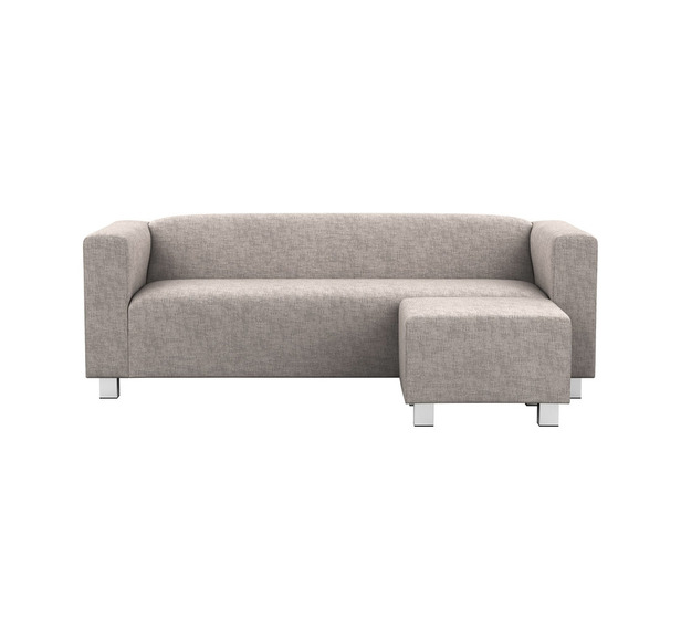 CROFT CHAISE 3 STR STANDARD CASA GREY