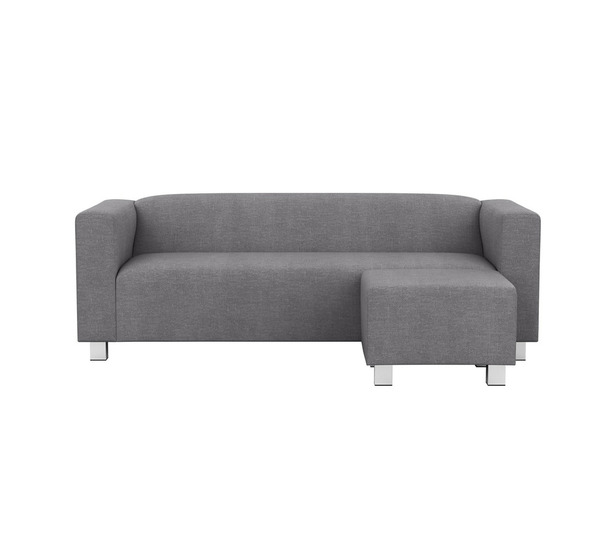 Croft 3 Seater Chaise