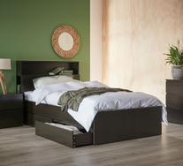 Como King Single Bed With Storage