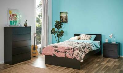 Como King Single Bedroom Package With Tallboy