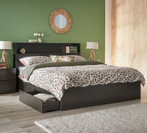 Como Queen Bed With Storage