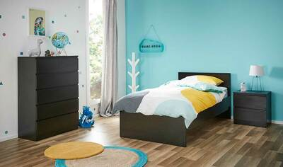 Como Single Bedroom Package With Tallboy