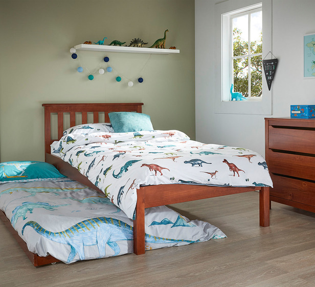 Cooper Single Bed With Trundle