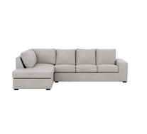 Dakota 5 Seater Modular Chaise with Sofa Bed