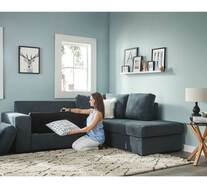 Denver 4 Seater Modular Chaise with Storage