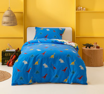 Dinos Single Quilt Cover Set