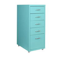 Erie 5 Drawer Filing Cabinet