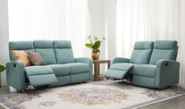 Evans 2 & 3 Seater Recliner Sofa Set