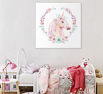 Fairytale Pony Wall Art