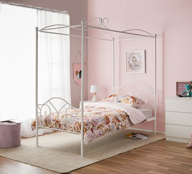 Giselle Four Poster Single Bed