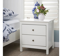 Hamilton 2 Drawer Bedside Table