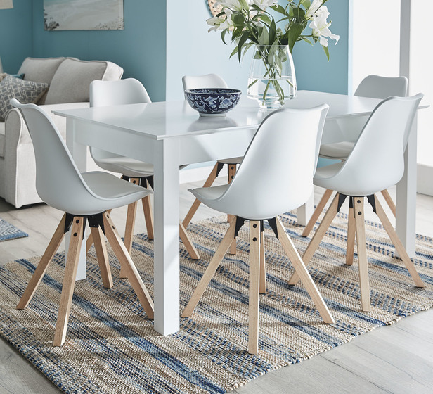 Hamilton 6 Seater Extendable Dining, Dining Room Sets With Extendable Tables