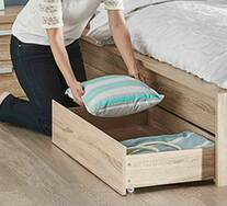 Havana Double Bed Drawer Pack