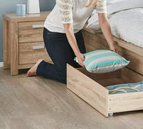Havana King Single Bed Drawer Pack