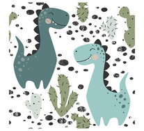Happy Dinosaurs Wall Art