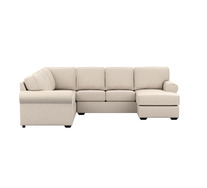 Hampton 6 Seater Modular Chaise Right