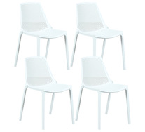 Set Of 4 Hinton Outdoor Dining Chairs