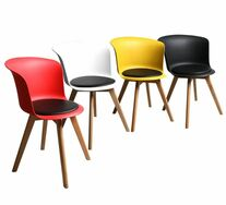 Set Of 4 Itzel Mixed Colour Chairs