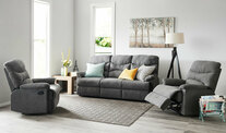 Jones 3 Piece Recliner Sofa Set