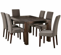 Kingston 7 Piece Dining Set with Madison Chairs
