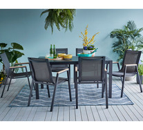Kartini 6 Seater Outdoor Dining Set
