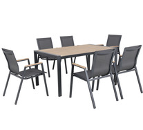 Kartini 6 Seater Deluxe Outdoor Dining Set