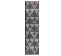 Laila Monochrome Outdoor Runner Rug