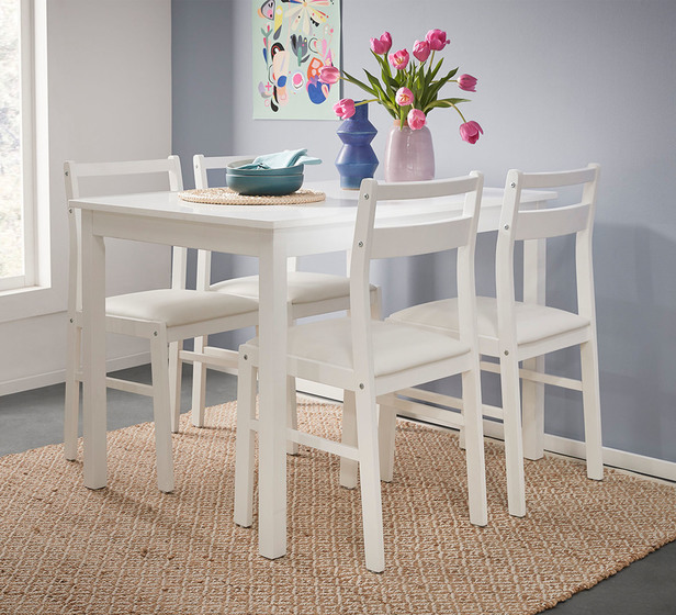 Luca 4 Seater Dining Set
