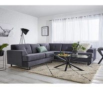 Miami 5 Seater Modular Sofa With Black Legs