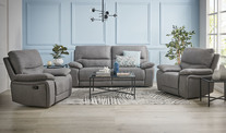 Morrison 3 Seater & 2 Reclining Armchairs Sofa Set