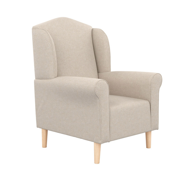 Maggie Armchair With Oak Legs