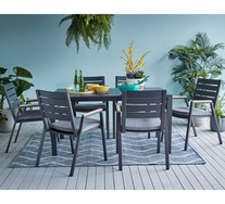 Napton 6 Seater Outdoor Dining Set