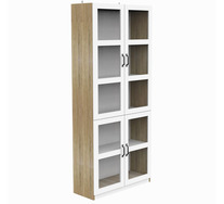 Polwarth Bookcase with Glass Doors