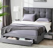 Pilato Storage Queen Bed