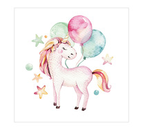 Party Unicorn Wall Art