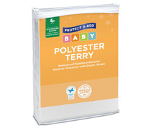 Polyester Terry Bassinet Mattress Protector