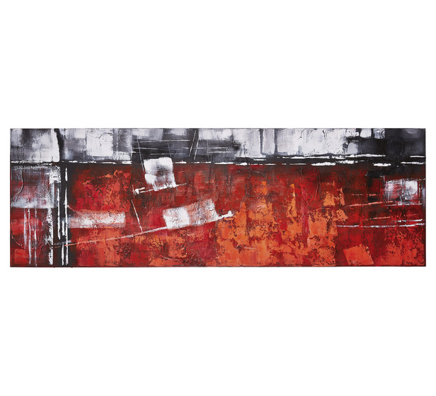 Red Abstract Wall Art | Fantastic Furniture