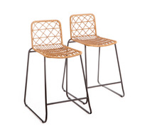 Set Of 2 Rutherford Bar Stools