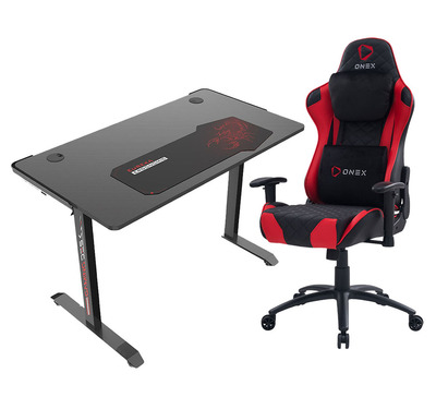Santes Desk & Charlton Chair Gaming Package